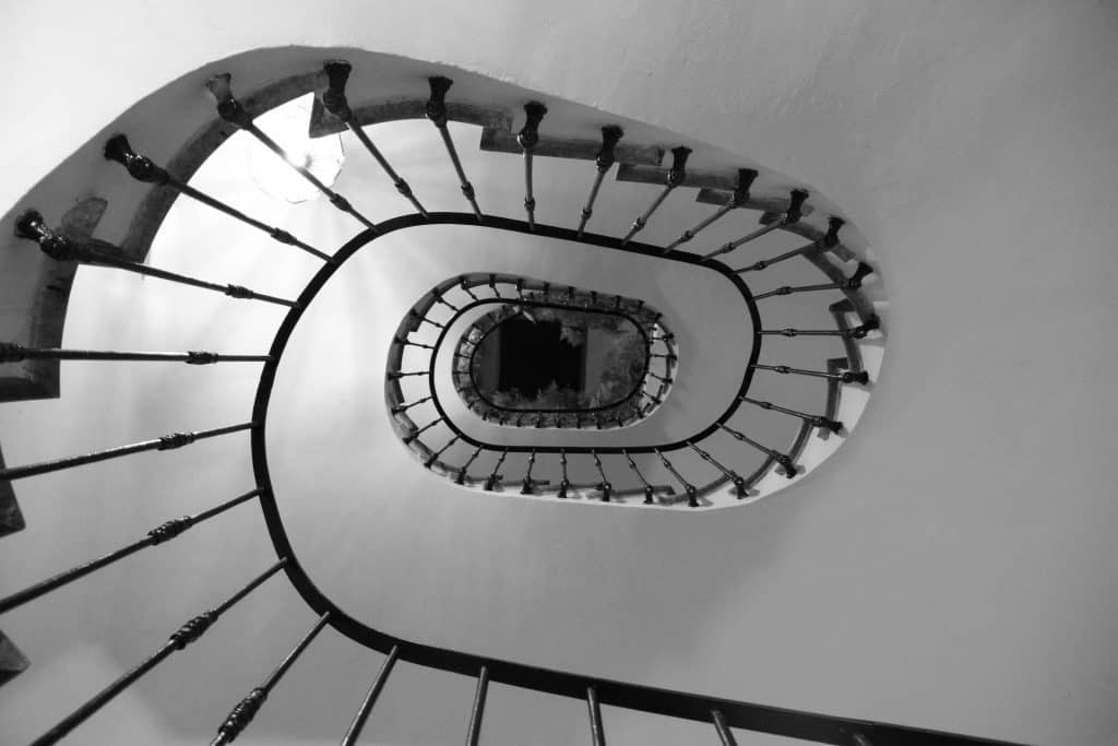 Dizziness and vertigo like a spiraling staircase