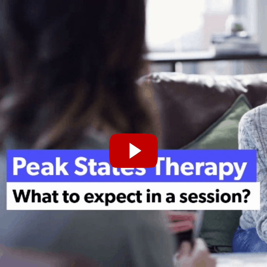 What to expect in a Peak States Therapy Session Video